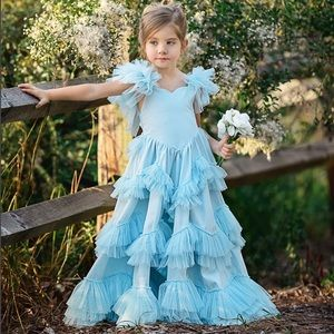 Dollcake Vintage Baby Blue Gown 🦋